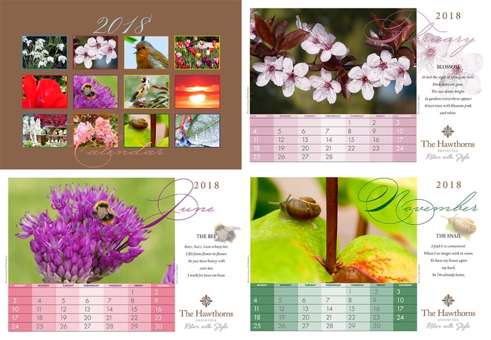 Hawthorns Calendar