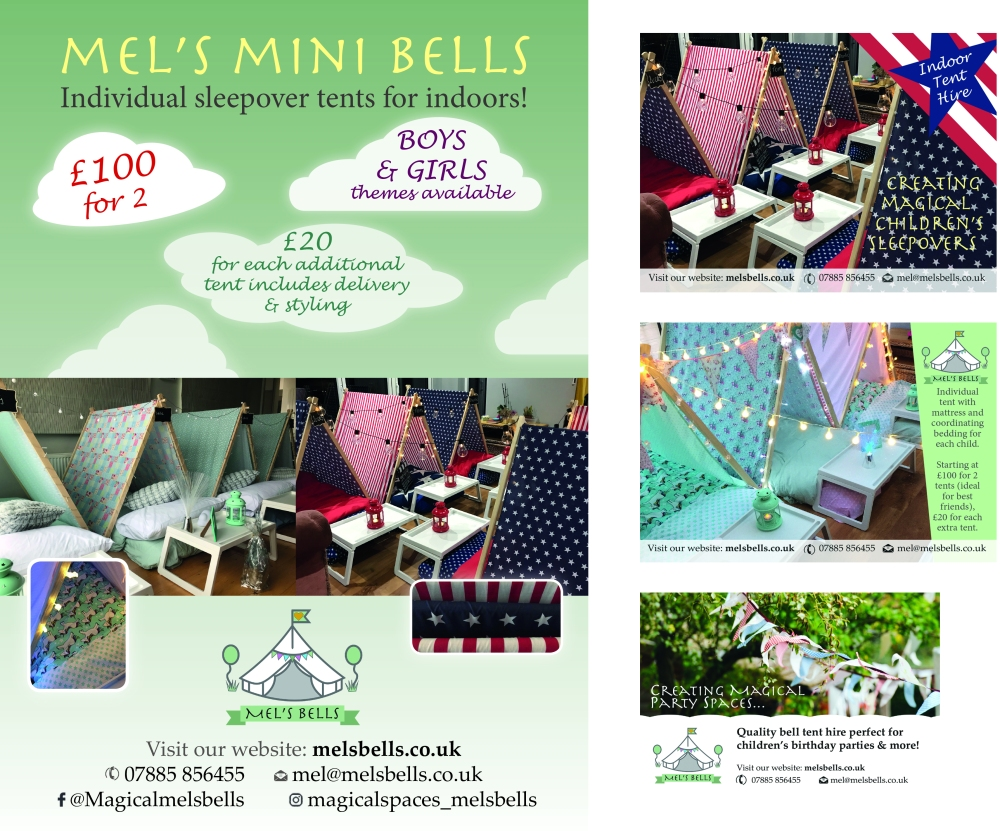 mini bells poster montage